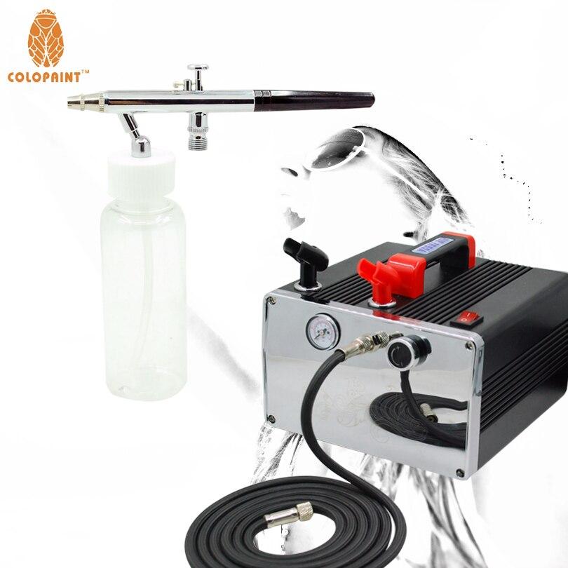 купить Economy Airbrush Sunless TANNING System Kit Simple Tan Solutions Compressor недорого