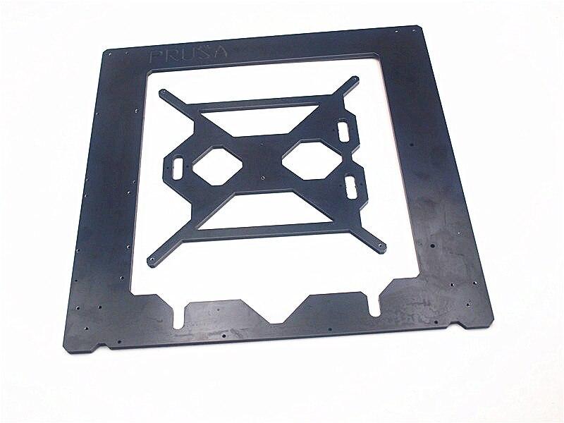 Funssor Reprap Prusa i3 MK2 aluminum composit Single frame heating bed 6mm Melamine CNC made