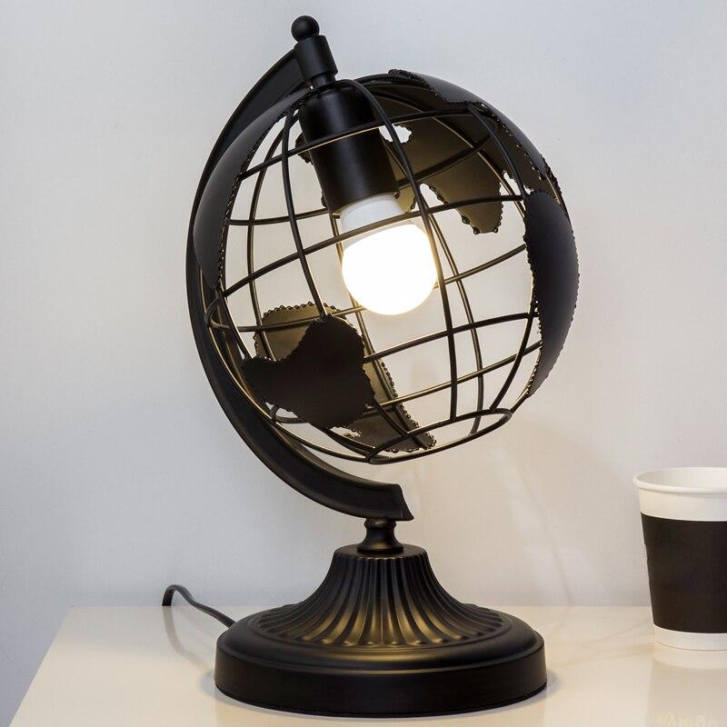 Personnalité créative bureau lecture lampe moderne simple LED protecteur des yeux Art de chevet lampe chambre terre Table lampe AP8071515