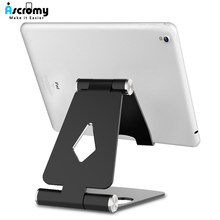 Ascromy Multi Angle Tablet Stand Mount For iPad Mini Pro Samsung Tab iPhone X Xiaomi LG Desktop Cell Phone Holder telefon tutucu(China)