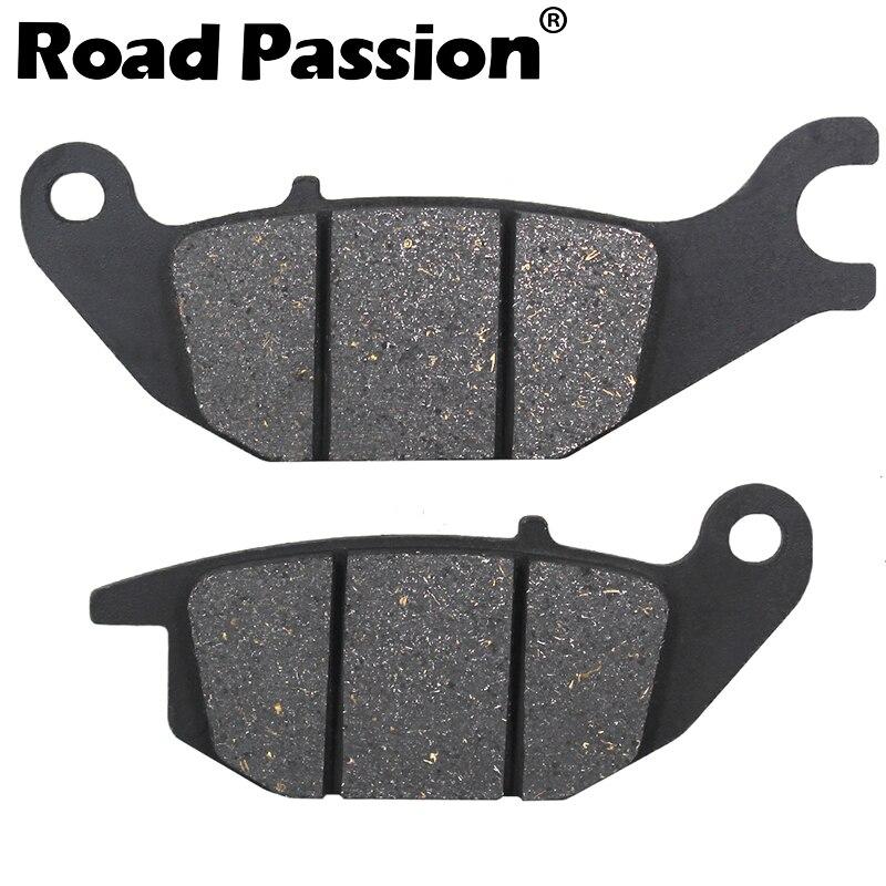Motivated Road Passion Motorcycle Rear Brake Pads For Honda Cbr 125 R4/r5/rs5/rs6 04-06 Cbr125 R 125r Rw5/rw6/rw7/rw8/rw9/rwa/rwb 05-11