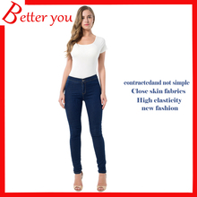 New Spring Summer pants women skinny casual Stretch top quality high waist jeans pencil