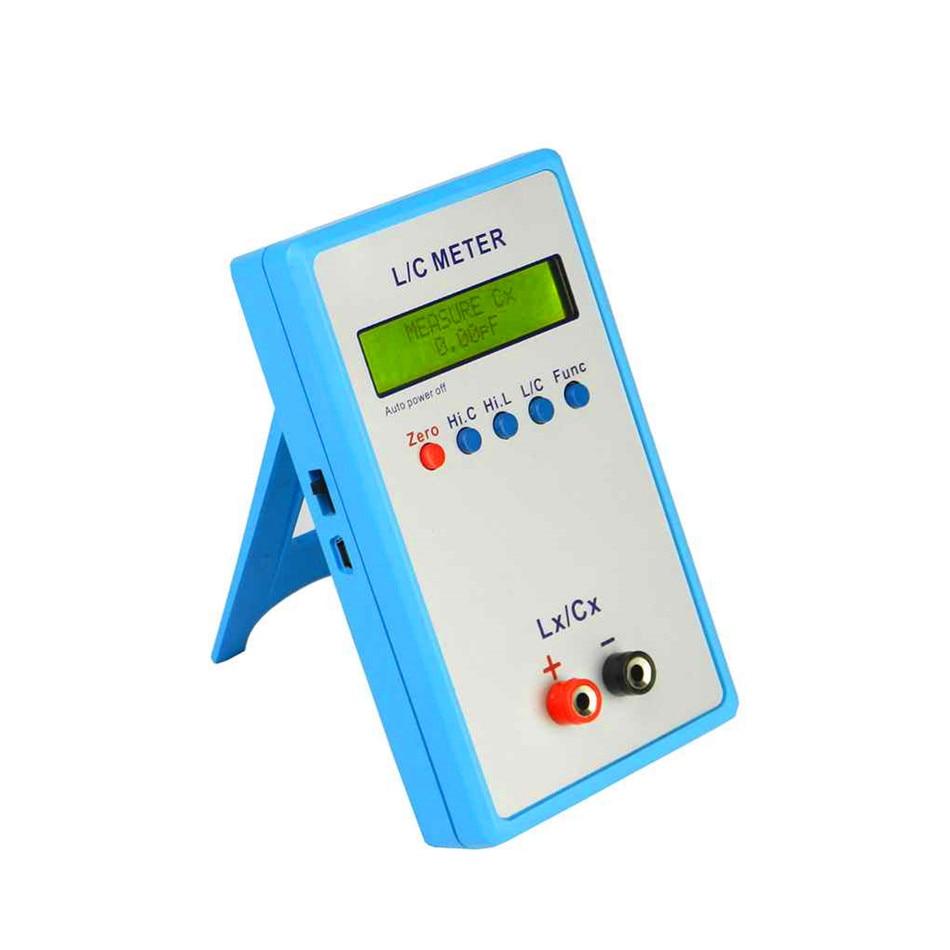 Handheld L/C Inductance Inductor Capacitance Meter Digital Bridge LCR Table LCD Display 150*89*29mm