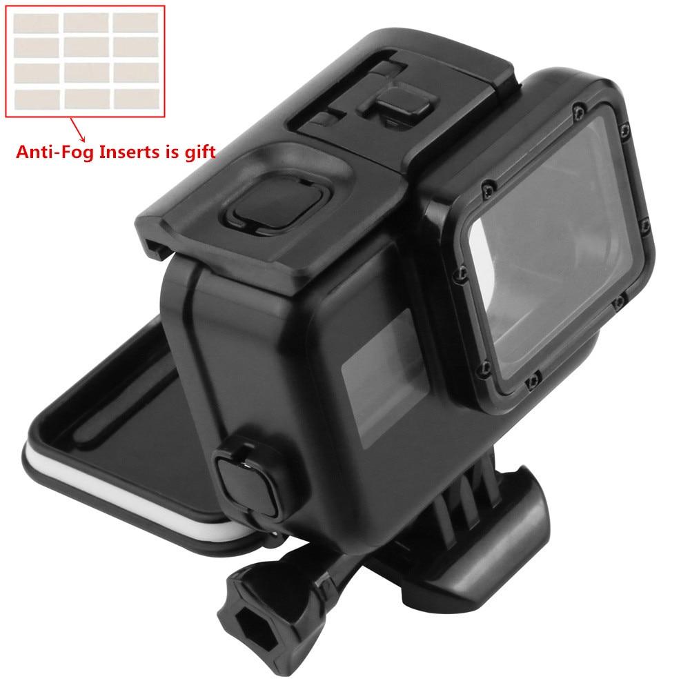 9301d0b8dea6 Vízálló tok Gopro Hero 6 5 érintőképernyős hátsó ajtó víz alatti ház ...