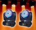 36 * 3 Вт кри R / G / B / W из светодиодов луч и мытья движущихся головного света для DJ ну вечеринку этап
