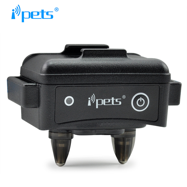 iPets PET619-1 Barking Dog Electric Collar For Dog with Shock 300M Remote Training Collar Barking Dog Collar 2