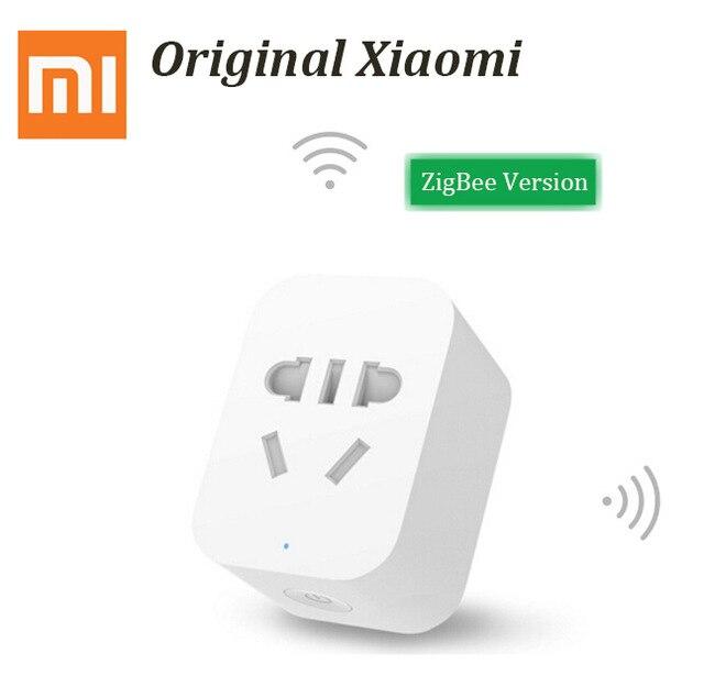 US $13 6  Xiaomi Gateway Aqara Zigbee wifi control smart home Automation  kits Smart socket Temperature Humidity Sensor For Android IOS APP-in Smart
