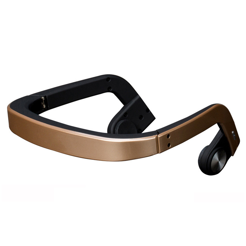 Bone conduction ZD100 Headphones Wireless Bluetooth Headset 3D Stereo Sweat-proof Hand Free For Running Riding Outdoor Sports