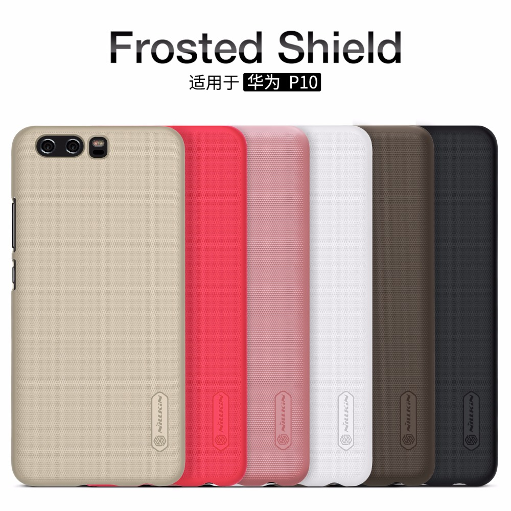 Huawei P10 case Huawei P10 Plus penutup case NILLKIN Super Frosted Shield hard matte back cover