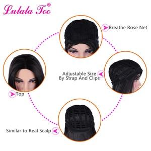 Омбре Красный синтетический боб парики короткие прямые парики для женщин афро-американский парик термостойкий блонд черный коричневый бордовый розовый