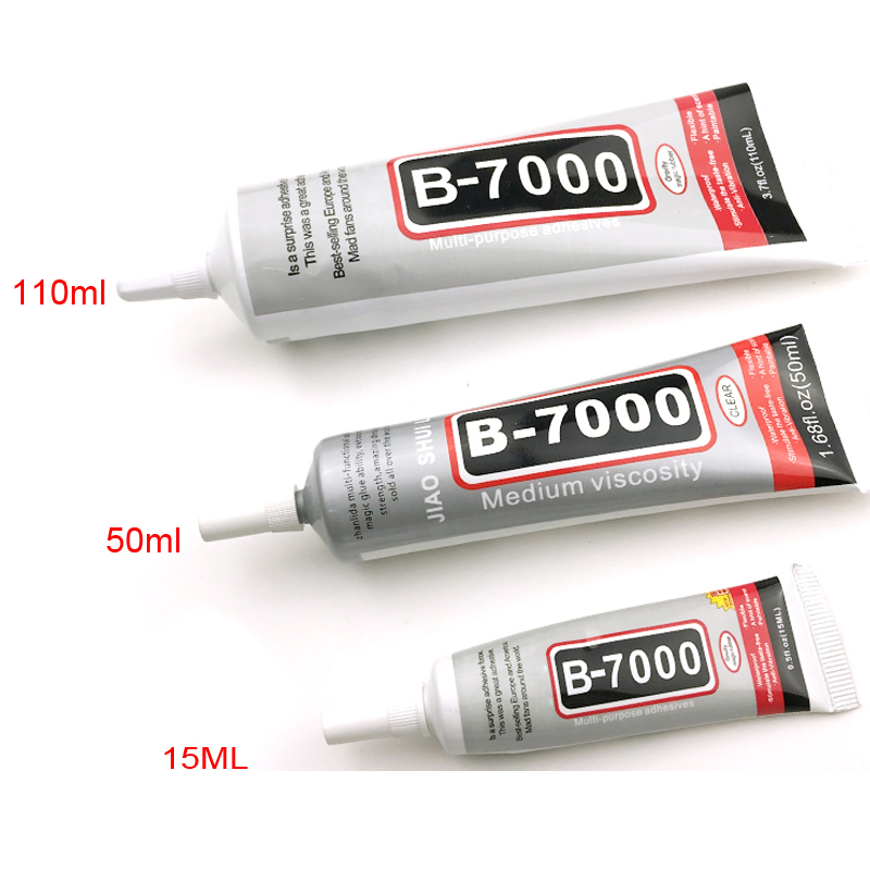 B7000 Glue 15ml 50ml 110ml Multi Function Adhesive Jewelery Epoxy Resin Diy Jewelry Crafts Glass Touch Screen Cell Phone Repair