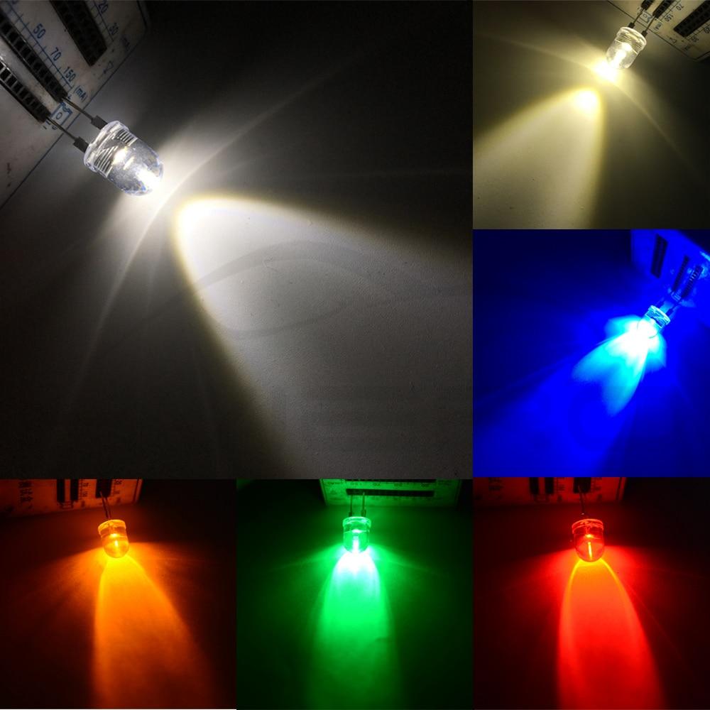 50pcs F3 3mm White Round  Superbright LED Light LED lamp GOOD QUALITY