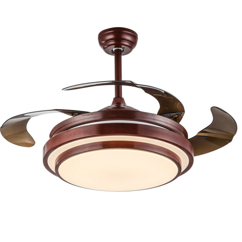 Modern Simple Mute Invisible <font><b>Fan</b></font> Led <font><b>Ceiling</b></font> Lamp With <font><b>Remote</b></font> Control <font><b>For</b></font> Living Room Bedroom Dining Room 36/42 Inches 2081 image