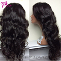 Full Lace Human Hair Wigs For Black Women Pre Plucked Peruvian Lace Front Human Hair Wigs Body Wave Human Hair Wigs 150%Density