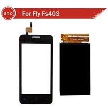 Para Fly FS401 FS403 FS451 FS452 FS501 FS502 LCD Pantalla Con Pantalla Táctil Digitalizar Envío Gratis