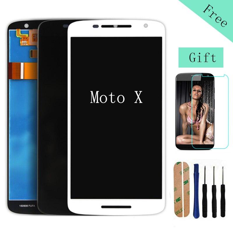 ФОТО Good LCD For Motorola Moto X XT1052 XT1053 XT1056 XT1058 XT1060 4.7 inch LCD Screen Display Touch Digitizer Assembly+Frame