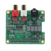 LEORY RPI-HIFI-DAC PCM5122 HIFI DAC Audio Card Expansion Board For  Raspberry Pi 3 Model B/2B/B+