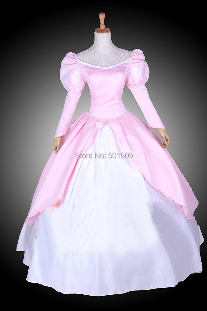 Pink Ariel Dress Costume - Meningrey