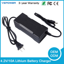 4.2V 10A Smart Lithium Ion Li-Ion Battery Charger NEW Universal