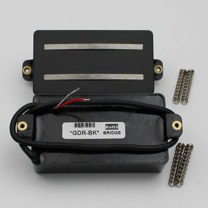 Image 3 - 1 סט מאלניקו מסילות סליל כפול איסוף החלפת חלקי 6 מחרוזת גיטרה חשמלית או מכשירי דיוק (GDR שחור)