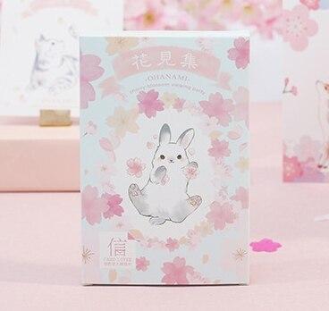 14.3cm*9.3cm See Flower Paper Postcard(1pack=30pieces)