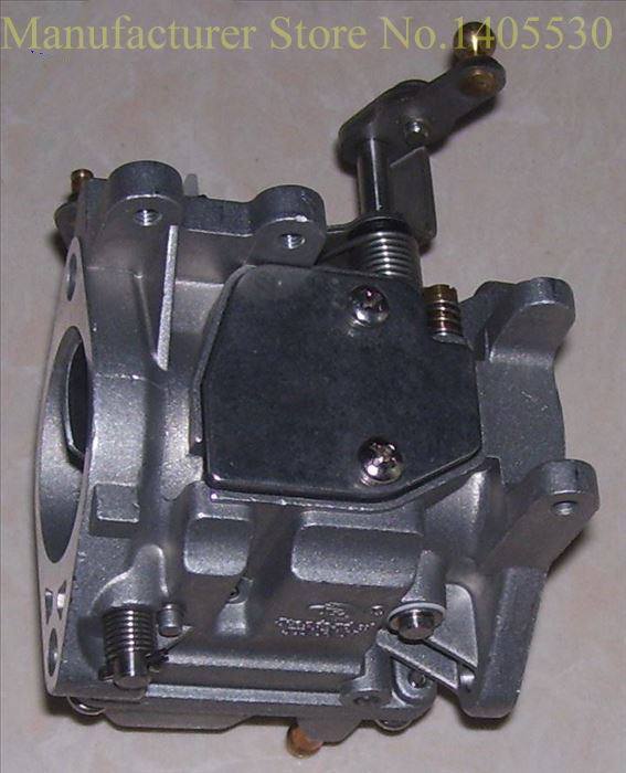 US $124 62 7% OFF|Free shipping carburetor for Yamaha new model 2 stroke 25  hp 30 hp outboard motor part 61N 10431 Parts-in Boat Engine from