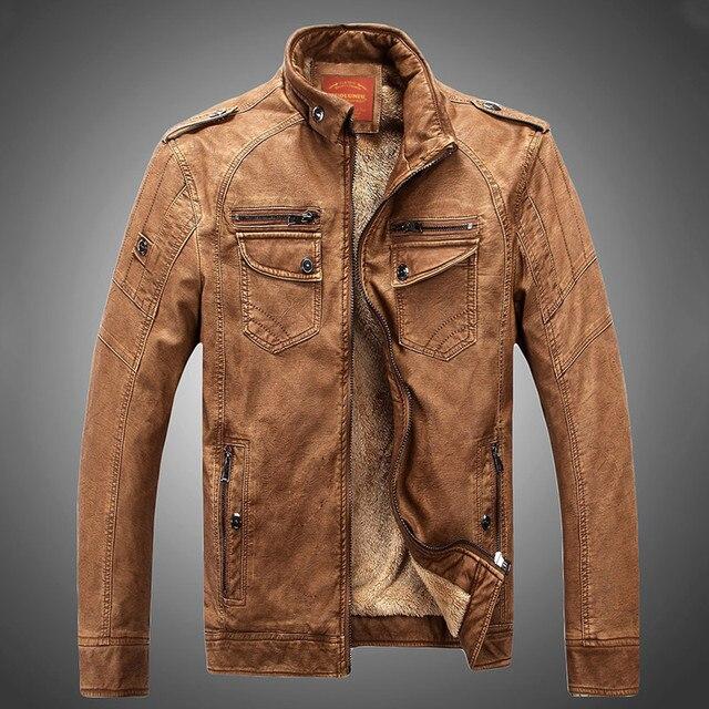 Горячая! высокое качество новая зимняя мужская мода пальто, мужские куртки, мужская кожаная куртка Пальто бесплатная доставка