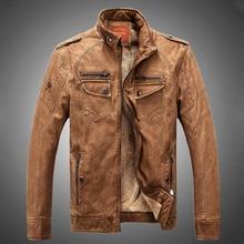 Hot! casaco de alta qualidade novos homens da moda inverno, jaquetas masculinas, jaqueta de couro dos homens Casaco frete grátis(China (Mainland))