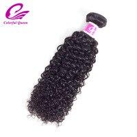 Coloré Reine Brésilienne Crépus Bouclés Cheveux 100% de Cheveux Humains Weave Bundles Naturel Couleur Remy Cheveux Bundles 8-26 pouce livraison Gratuite