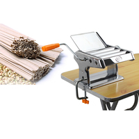 Stainless Steel Manual Pasta Maker Noodle Dumpling Skin Making Machine Vegetable Noodle Maker Machine Tool