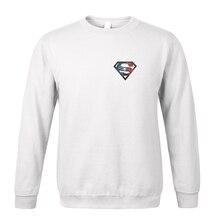 hot sale Superman sweatshirt 2017 spring winter fashion men hoodies fleece high quality brand clothing tracksuit men sportswear