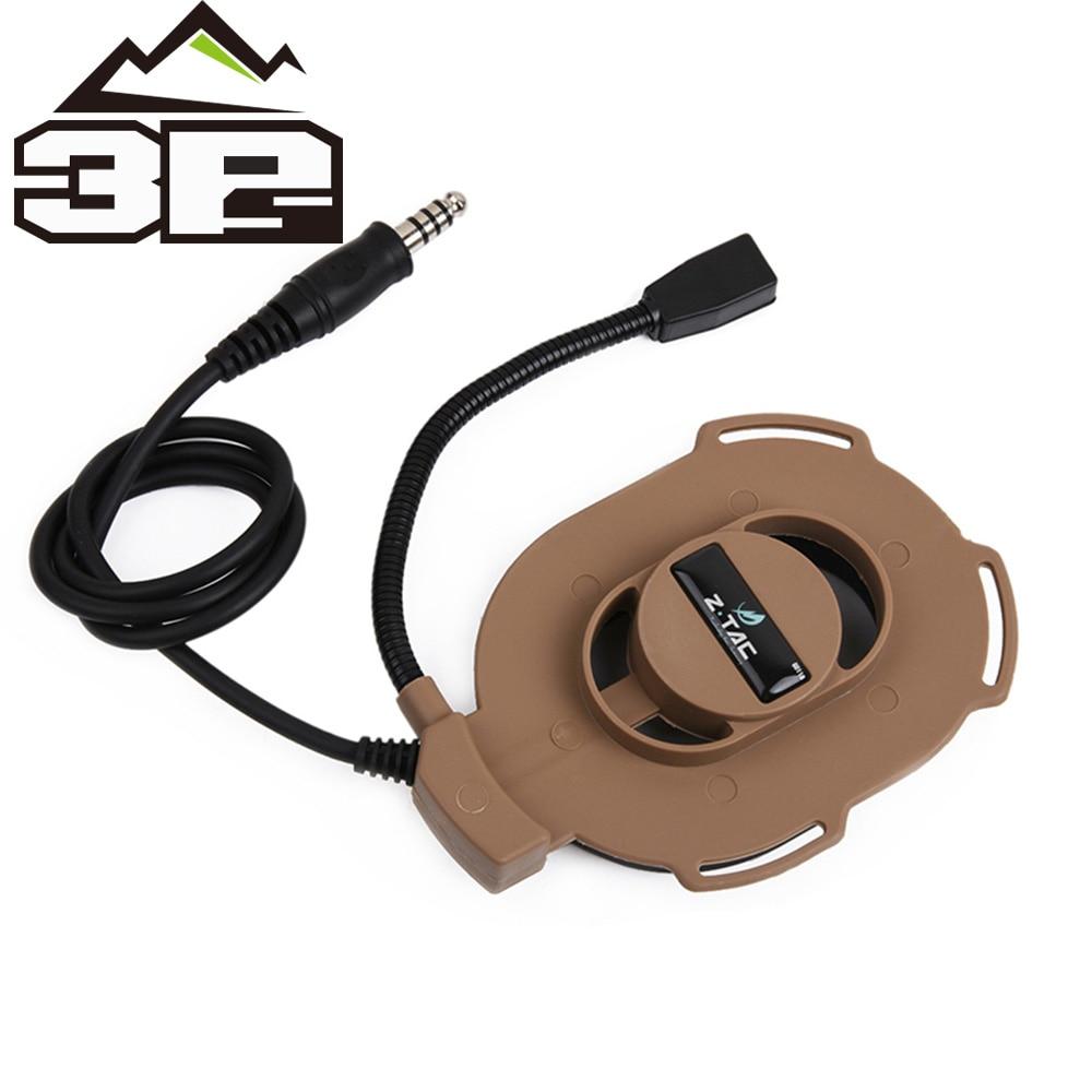 z tactcial microfone boom com braco movel ajustavel harness bowman elite ii headset airsoft militar padrao