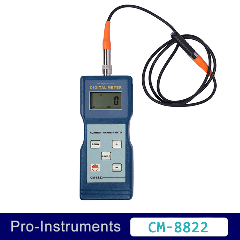 Landtek CM8822 Rivestimento Misuratore di Spessore di Gauge 0-1000um Pittura della Vernice calibro di spessore OD