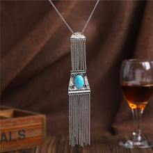 New Wholesale Necklace Femme Collares Tassel Maxi Necklace Geometric Pendant Charm Women Colar Statement Boho Necklaces colliers jujia sexy body women necklaces tassel boho necklace 2017 new designer female statement shoulder chain