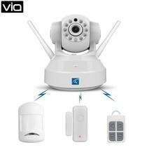 Vstarcam c37-ar-tz1v directo de fábrica de alarma cámara ip inteligente domótica seguridad gas dector, Detector de humo, Sensor de la puerta