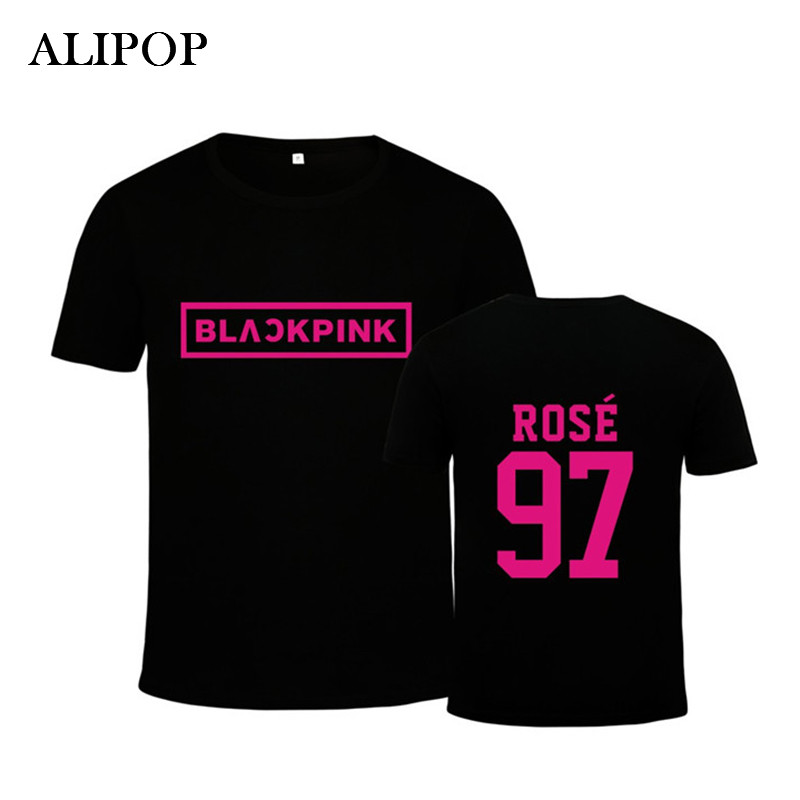 Youpop KPOP Korean Fashion Black Pink Blackpink Jennie Kim Rose ...