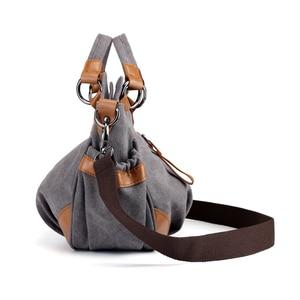 Image 3 - 2020 Nieuwe Canvas Schoudertassen Vrouwen Casual Messenger Bags Hoge Kwaliteit Dames Totes Handtassen Vrouwelijke Crossbody Tas Bolsas