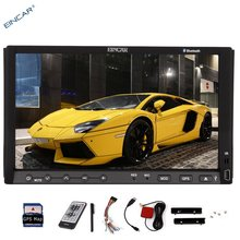 """NEW 7"""" in-dash double 2din Car DVD Player HD Capacitive TouchScreen GPS Navigation Stereo Radio Video built-in bluetooth iPod"""