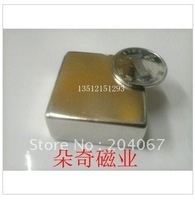 40mmx40mmx20mmblcok N35 (Nd-Fe-B) ndfeb magnets rare earth magnets 40x40x20 super power FREE SHIP