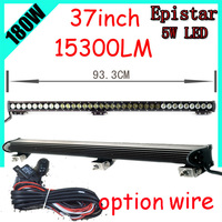 Free DHL UPS FEDEX Ship 37 180W 15300LM 10 30V 6500K LED Working Bar Led Offroad
