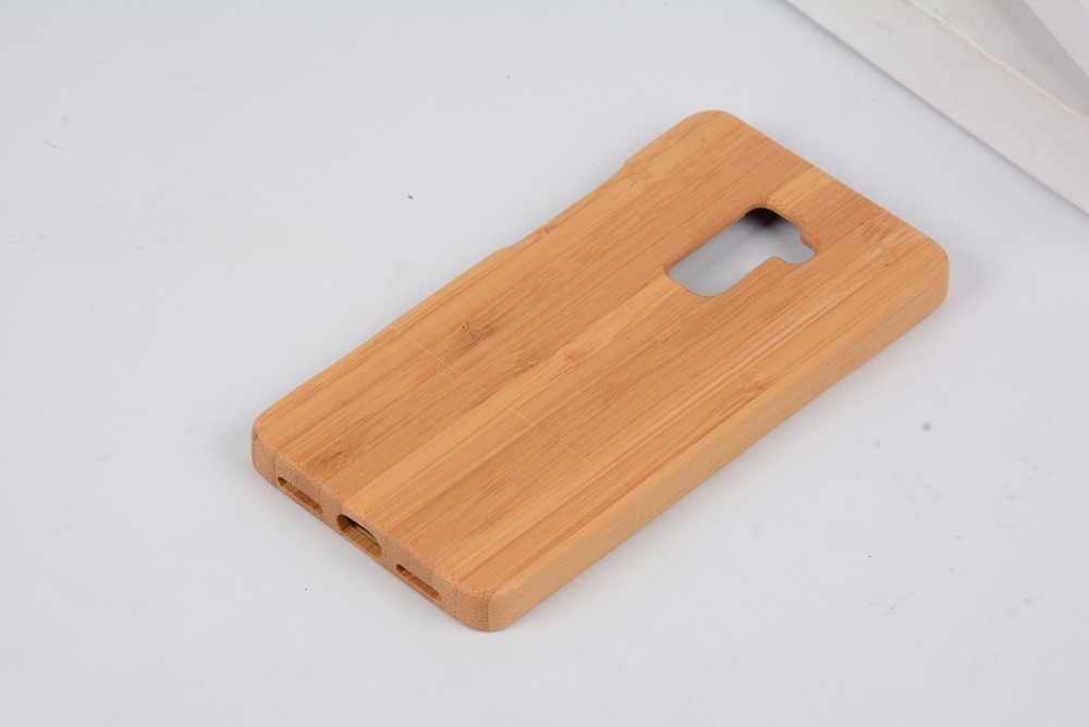 Funda de teléfono de madera de bambú para Huawei Mate S funda trasera de madera