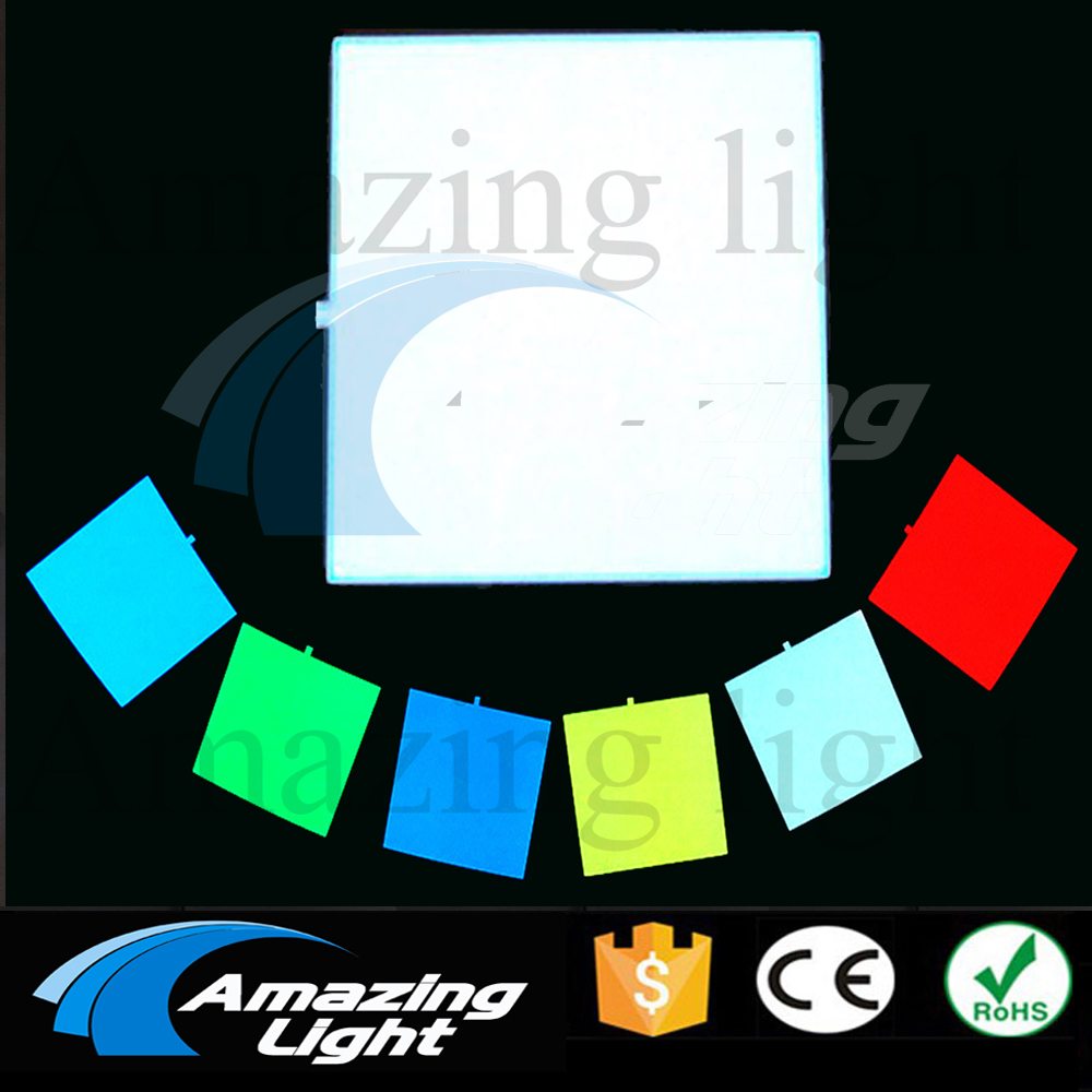 10X10CM El panel electroluminescent BackLight panel Led Board Display without  Inverter
