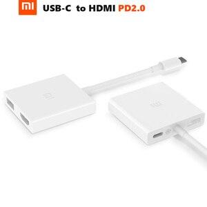 Image 1 - Original Xiaomi USB C để HDMI Đa Chức Năng: Sạc Extender 4 K PD2.0 70 Wát Max USB 3.0 Truyền Dữ Liệu Hub