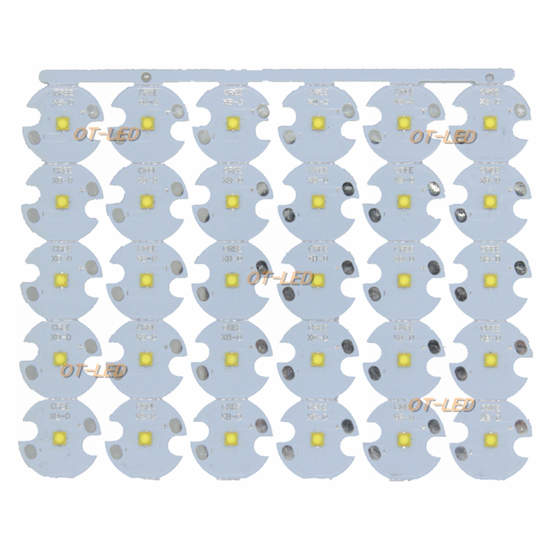 50pcs 3W Nation Star 2525 SMD High Power LED diode Chip light emitter Cool White Warm White instead of CREE 2525 XB-D XBD led