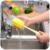 1 pcs Escovas de Mamadeira de Leite Do Bebê Bico Do Bule Bico bico Tubo Teat Esponja Conjunto Escova de Limpeza Escova Copo ZH323