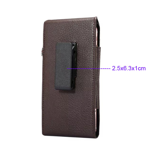 Verticial Rotary Man Belt Clip Strap Leather Mobile Phone Case For Moto X Style,Doogee F5,X5 MAX T6 X6 Pro,Vernee Mars/Thor E