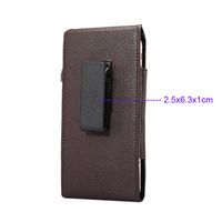 Verticial Rotary Man Belt Clip Strap Leather Mobile Phone Case Card Pouch For Motorola Moto X