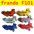 Motorcycle universal modification four piston frando F101 caliper BWS RSZ CNC rear brake 9mm hole motorcycle parts