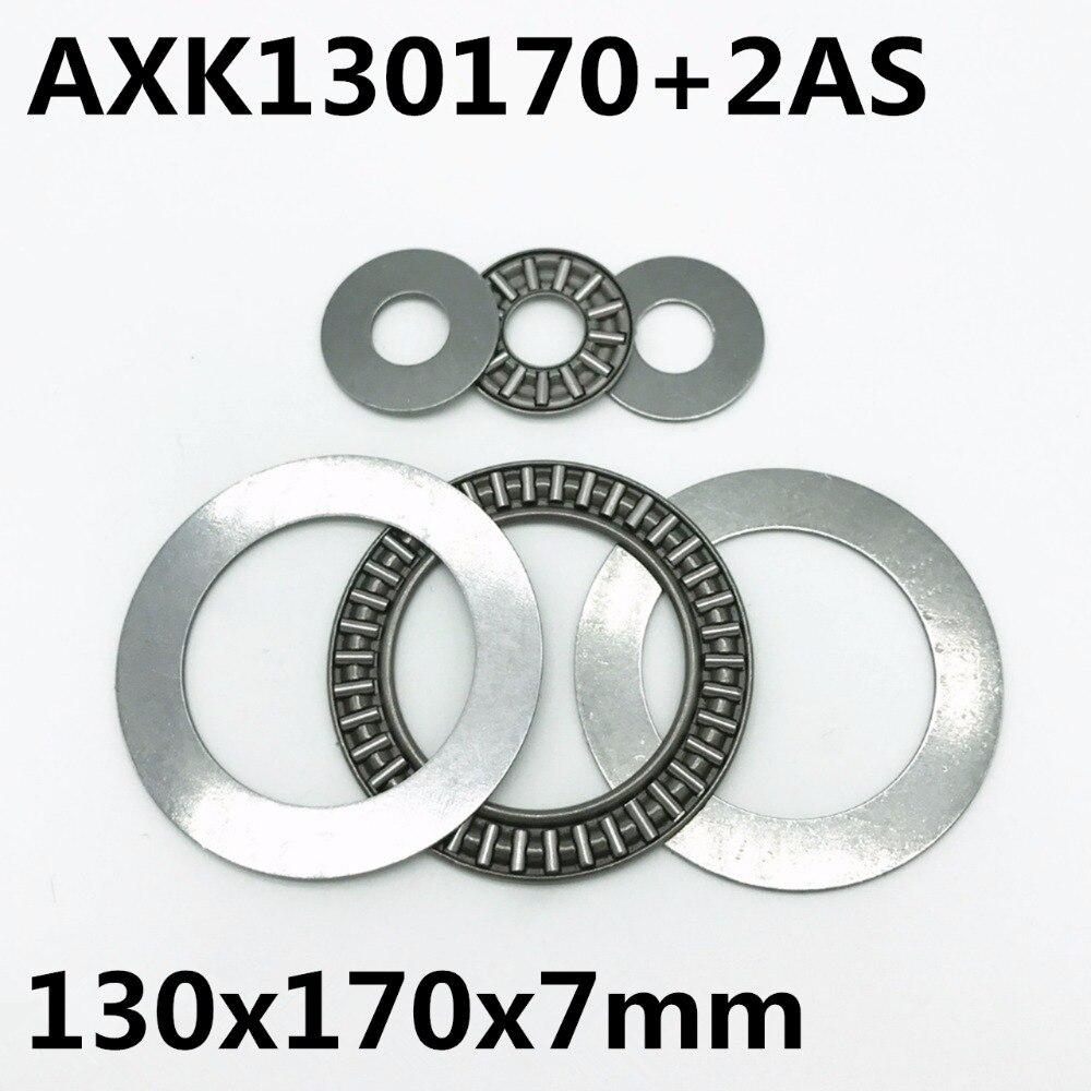 Ev Dekorasyonu'ten Rulmanlar'de 1 adet AXK130170 + 2AS Itme iğneli rulman Rulman 130x170x5mm taşıyıcı yatak Marka Yeni Yüksek kalite title=
