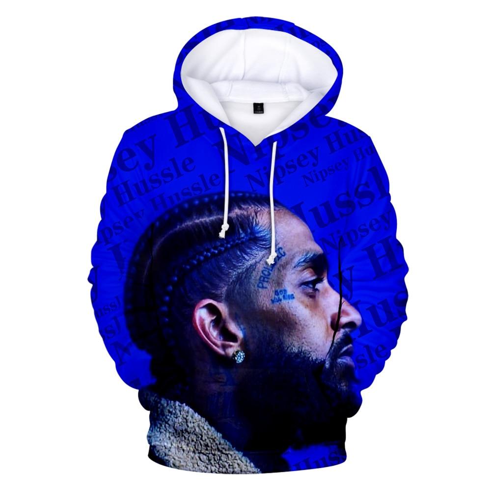 Aikooki Hot Sale US Rapper Nipsey Hussle 3D Hoodies Men/Women Autumn Popular Hip Hop Hoodie Casual Men's Sweatshirts Top